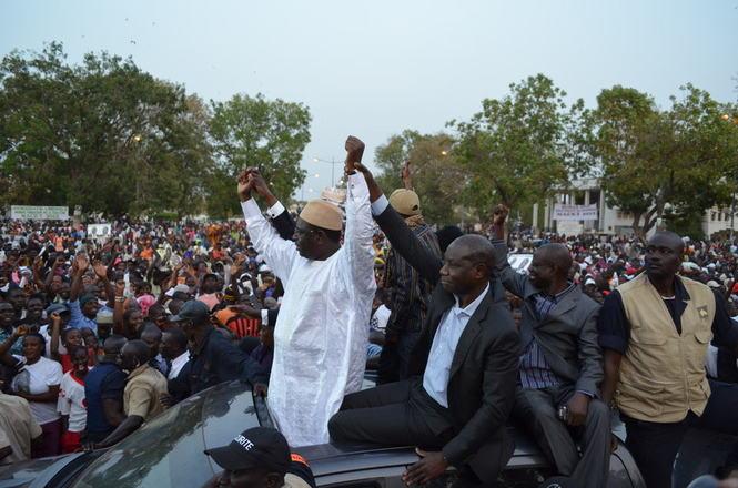 La France félicite M. Macky Sall pour son élection à la présidence du Sénégal.