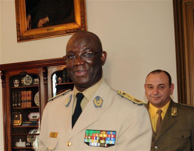 Le Chef d'état major général des armées, le général de corps d'armée, Abdoulaye FALL