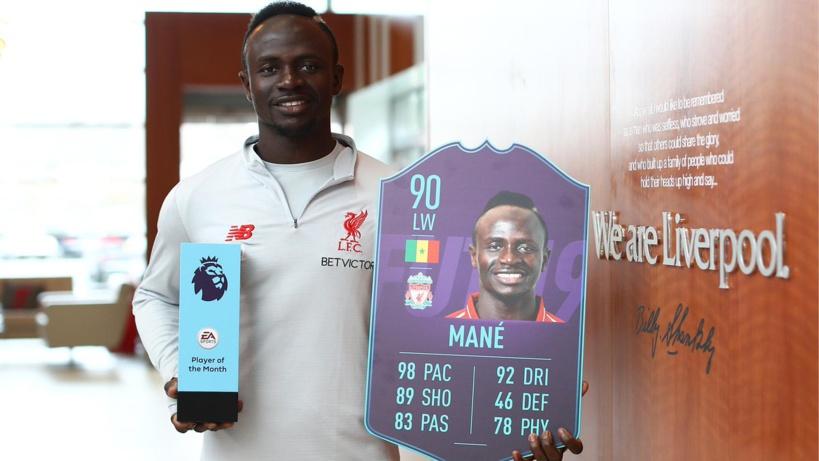 #PremierLeague - Sadio Mané candidat pour le titre de meilleur joueur du mois de Novembre