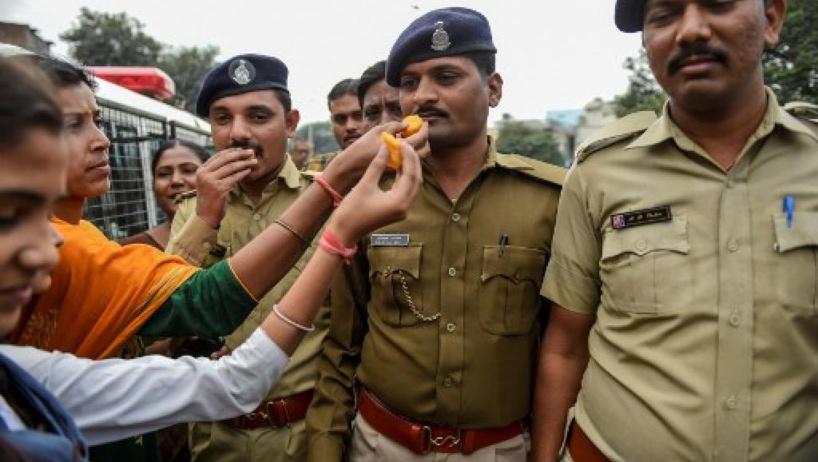 L'Inde divisée après la mort des quatre suspects du viol d'Hyderabad