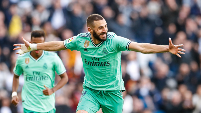 #Liga - Benzema et Varane hissent le Réal en tête