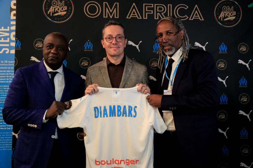 L'Olympique de Marseille annoncé son partenariat avec l'Institut Diambars