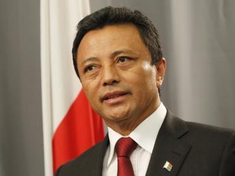 Marc Ravalomanana, ici en février 2011, était au coeur du débat sur la loi d'amnistie mais il semble avoir changé de tactique. Reuters / Mike Hutchings