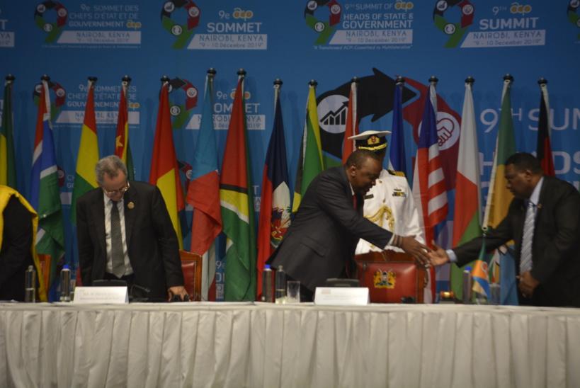 Présidence du sommet des ACP : Kenyatta prend le relais