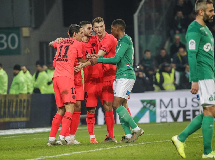#Ligue1 - Paris écrase Saint-Etienne (4-0)