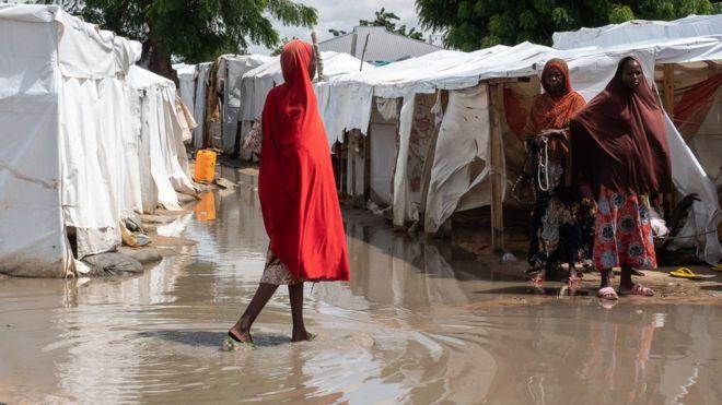 Les réfugiés exposés au changement climatique