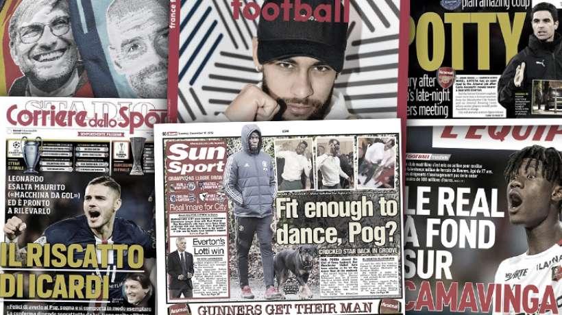 Paul Pogba fait polémique en Angleterre, Arsenal et Arteta mettent Manchester City en furie