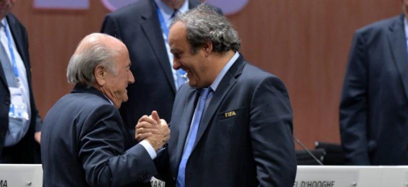 La FIFA porte plainte contre Michel Platini et Sepp Blatter