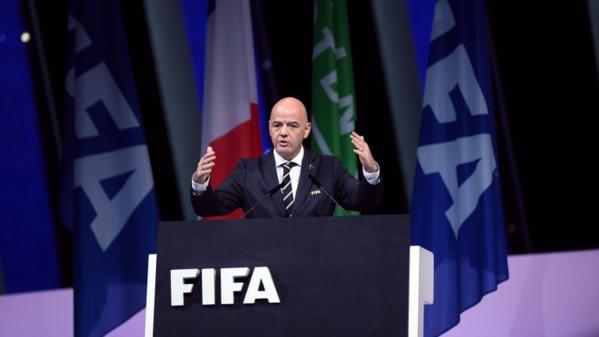 Pour novembre, la Fifa publie le même classement qu'octobre
