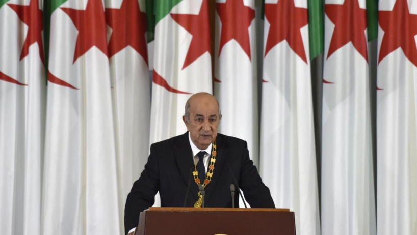 Algérie: le nouveau président Abdelmadjid Tebboune a prêté serment
