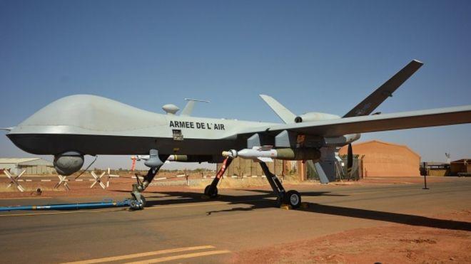 La France déploie des drones armés dans le sahel