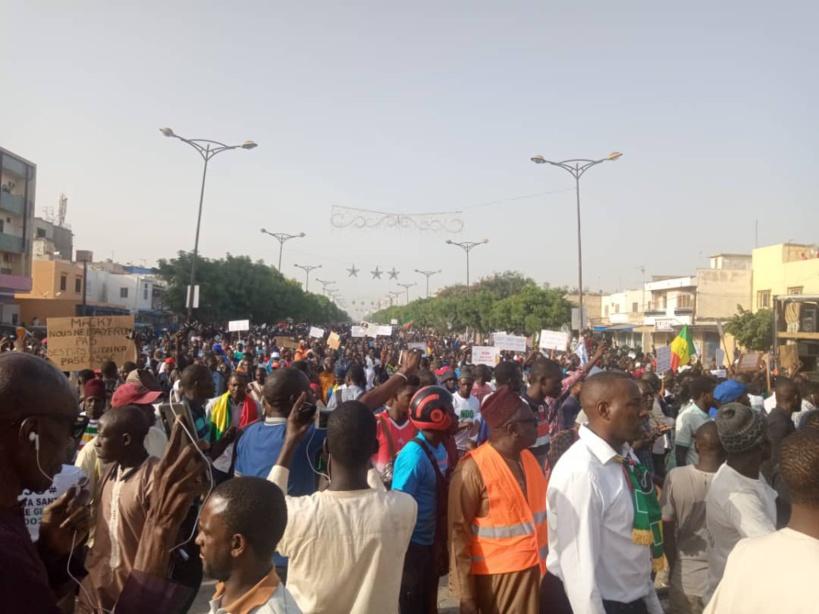 Centre-Ville de Dakar: la marche du collectif Noo Lank divise les Sénégalais