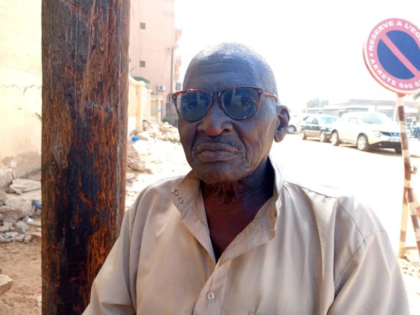 Abdoulaye Mbaye, retraité et pour la marche de Noo Lank