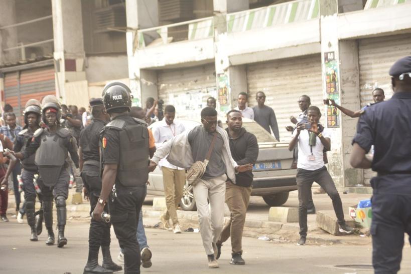 Me Khoureysi Ba dépité par les conditions de détentions des 38 manifestants arrêtés