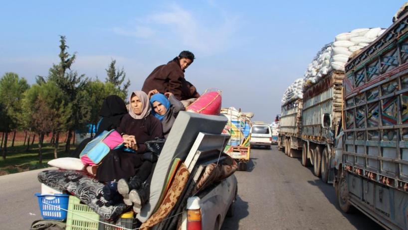 Syrie: les civils de la région d'Idleb assiégés et bombardés