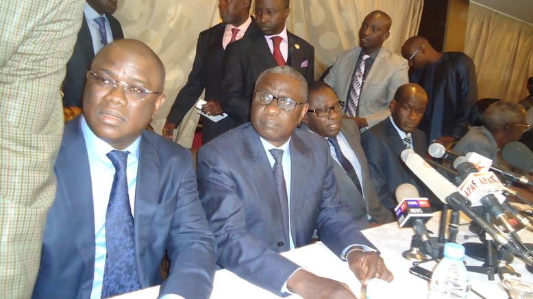 Direct conférence de presse des frondeurs du PDS: Les dissidents vont former une liste aux législatives