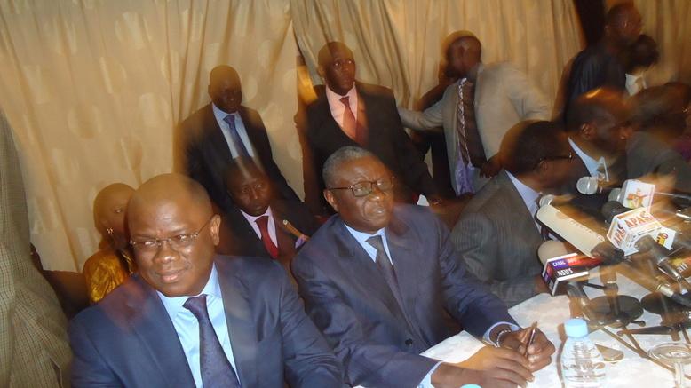 Direct conférence de presse des frondeurs du PDS: l'Alliance Bokk Guiss Guiss pour défier Wade et Macky