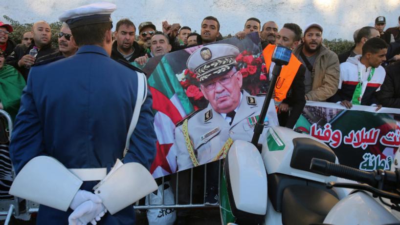 Algérie : Début de la cérémonie des funérailles du général Gaïd Salah