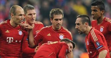 Ligue des Champions - Ribéry-Robben, ça a chauffé !