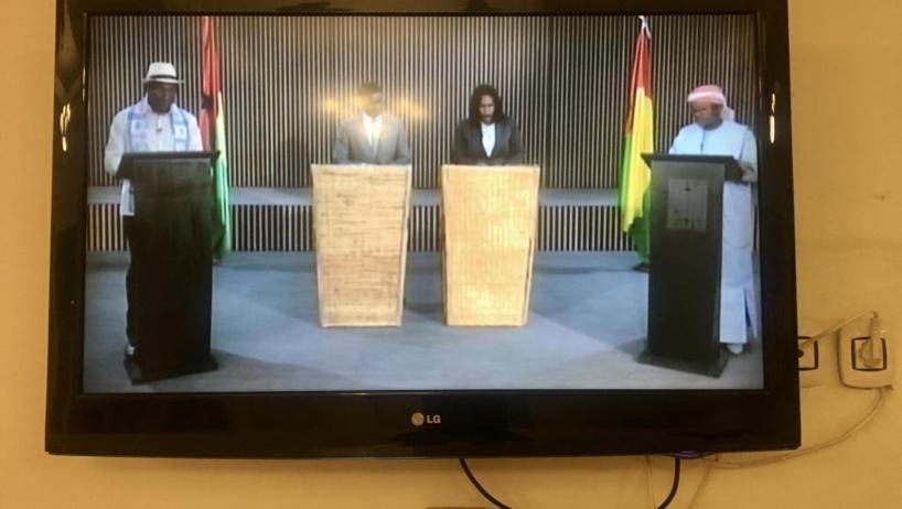 Présidentielle en Guinée-Bissau: les deux candidats s'accusent lors du duel TV