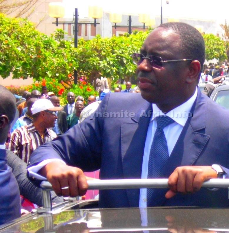 Macky Sall démissionne de la mairie de Fatick