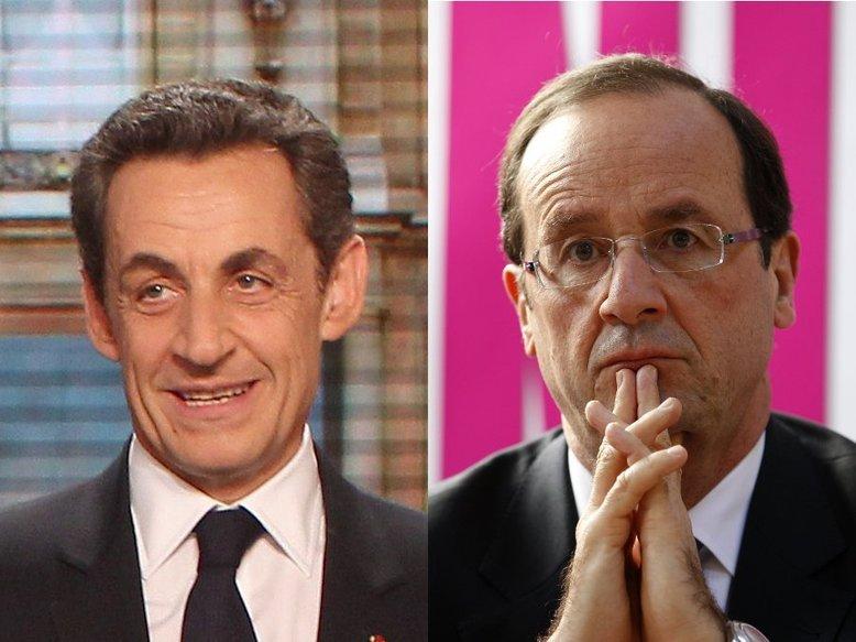 François Hollande et Nicolas Sarkozy au second tour, percée de Marine Le Pen