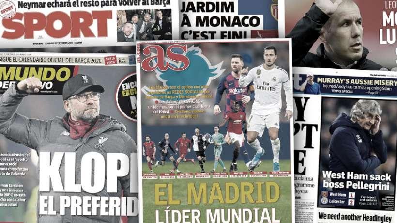 #Mercato - Les supporters du Barça veulent Klopp, le Real enregistre 223 millions de fans dans le monde...