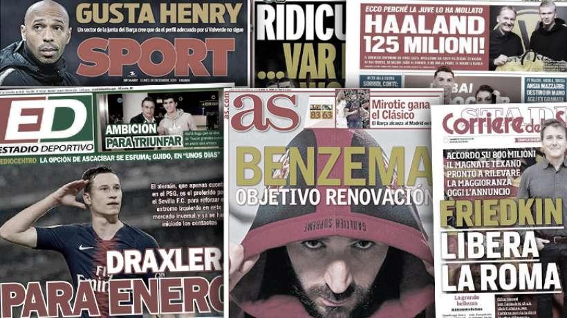 Les chiffres fous de l'opération capotée Håland à la Juve, le rachat record de l'AS Roma fait grand bruit en Italie