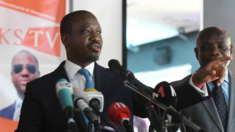 """Depuis Paris, Guillaume Soro promet """"d'organiser la résistance"""" à Alassane Ouattara"""