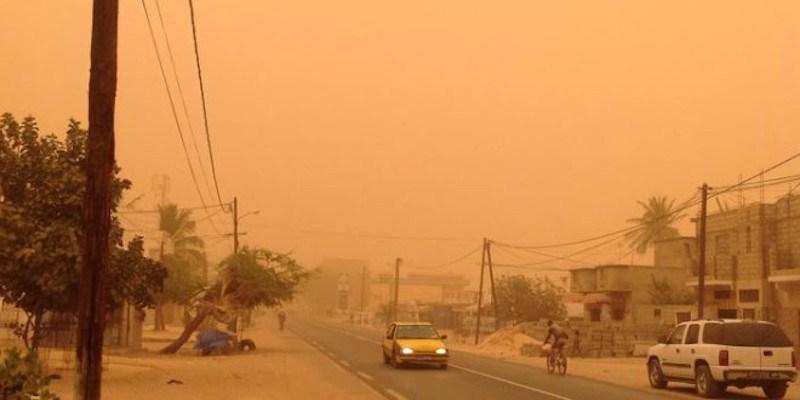 #Météo - De la poussière sur la majeure partie du territoire sénégalais