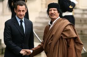 Selon Mediapart, Kadhafi aurait financé la campagne de Nicolas Sarkozy en 2007