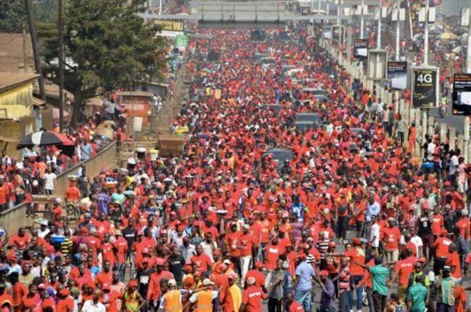 Des milliers de manifestants dans les rues de Guinée contre le 3ème mandat