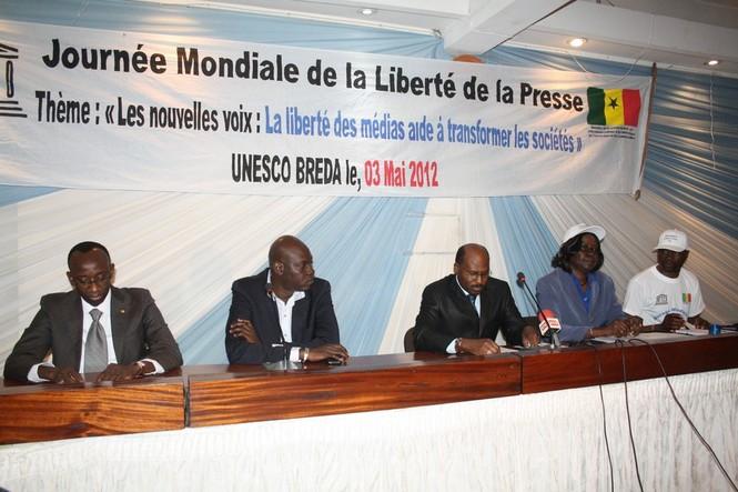 03 mai 2012 : Les acteurs des médias fêtent la Journée mondiale de la liberté de la presse