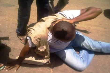La FIJ dénonce l'agression policière contre un journaliste togolais, Noël Tadegnon