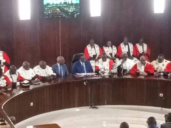 Lutte contre le Terrorisme: Macky annonce un projet de loi sur la Sécurité intérieure