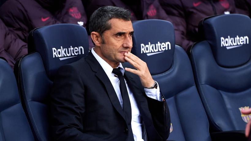 Le Barça ne songerait pas donc de licencier Ernesto Valverde