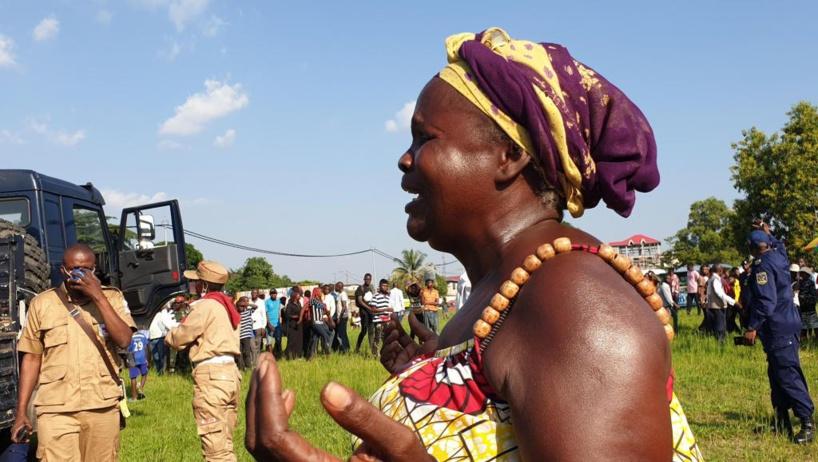 RDC: funérailles des victimes des inondations dans la douleur