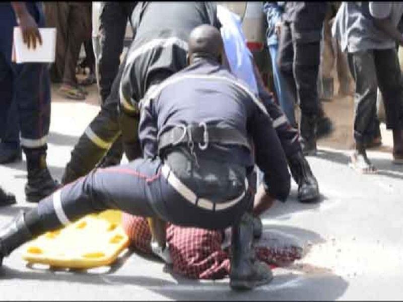 Touba : Cinq (5) blessés enregistrés dans un accident de véhicule de transport d'élèves