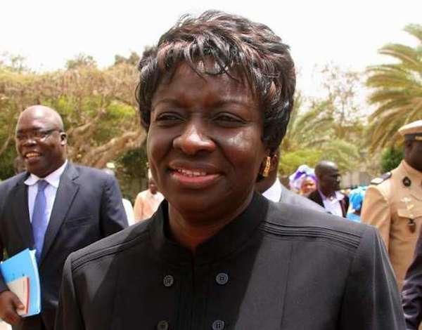 Aminata Touré, ministre de la Justice Garde des sceaux