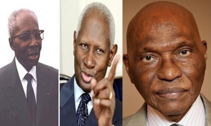 Les trois présidents de la République du Sénégal (Montage PressAfrik)