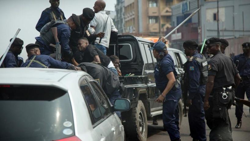 RD Congo: la police met fin à une manifestation de Martin Fayulu et ses proches