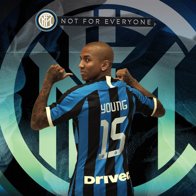 #Mercato - Ashley Young signe à l'Inter Milan