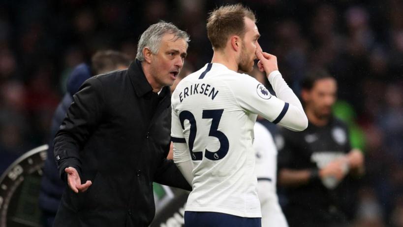 #Mercato - José Mourinho clarifie la situation concernant Christian Eriksen et l'Inter