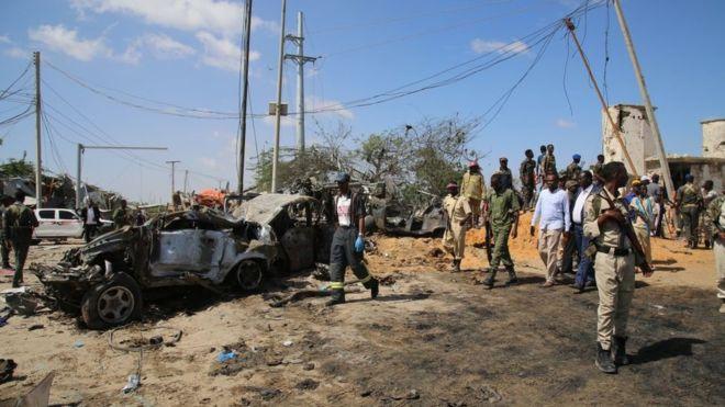 Quatre personnes tuées dans une attaque à Mogadiscio