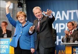 Allemagne: une élection régionale fait figure de mini scrutin national pour Angela Merkel