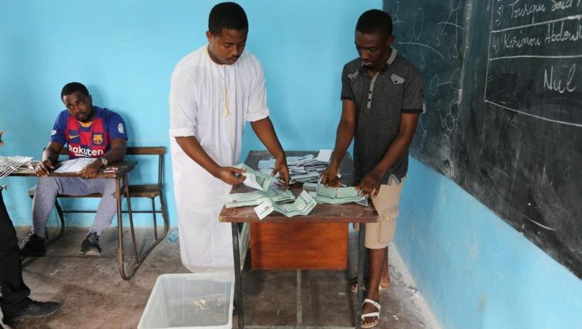 Proclamation des résultats partiels des législatives aux Comores
