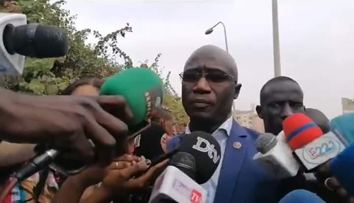 Me Moussa Sarr confiant après avoir plaidé la libération de Guy Marius et Cie
