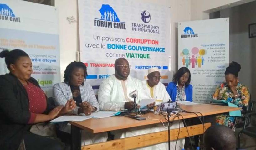 Le Forum Civil encourage le Doyen des juges à tirer au clair l'affaire des 94 milliards de F CFA