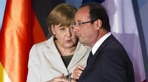 Le duo Angela Merkel-François Hollande en accord sur la Grèce et moins sur la croissance