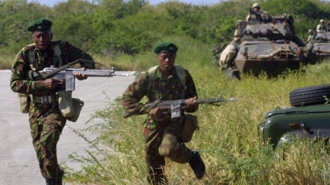 Des soldats kenyans n'ont pas fui devant al-Shabab, selon les Américains